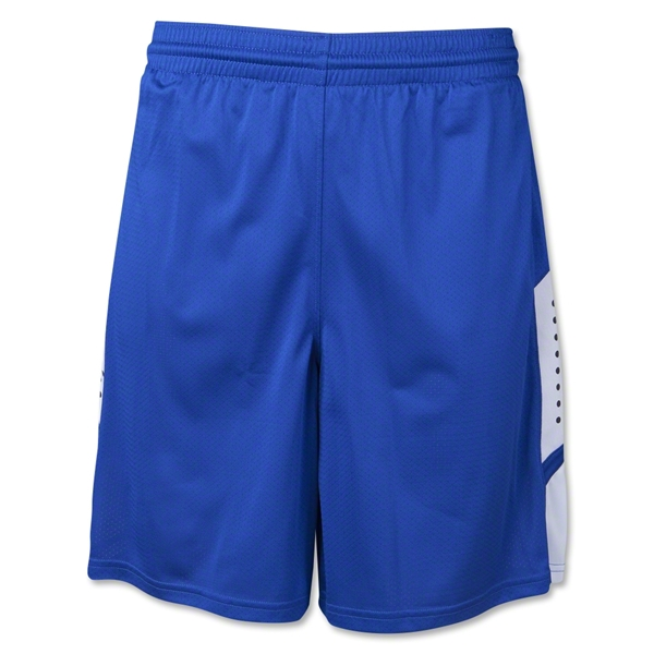 Warrior Burn Stock Game Short (Roy/Wht)