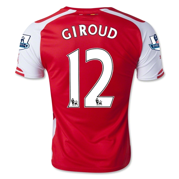 Arsenal 14/15 GIROUD Home Soccer Jersey