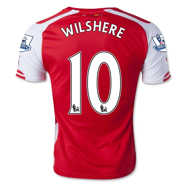 Arsenal 14/15 WILSHERE Home Soccer Jersey