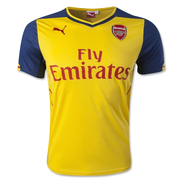 Arsenal 14/15 Away Soccer Jersey