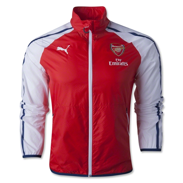 Arsenal 14/15 Anthem Jacket (Red)