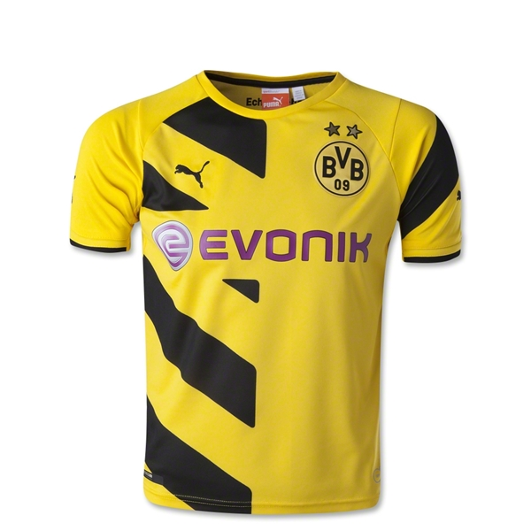 Borussia Dortmund 14/15 Home Youth Soccer Jersey