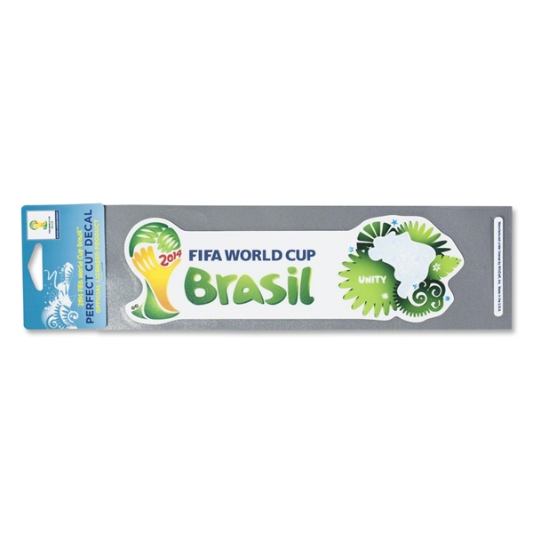 2014 FIFA World Cup Brazil(TM) Logo Bumper Sticker