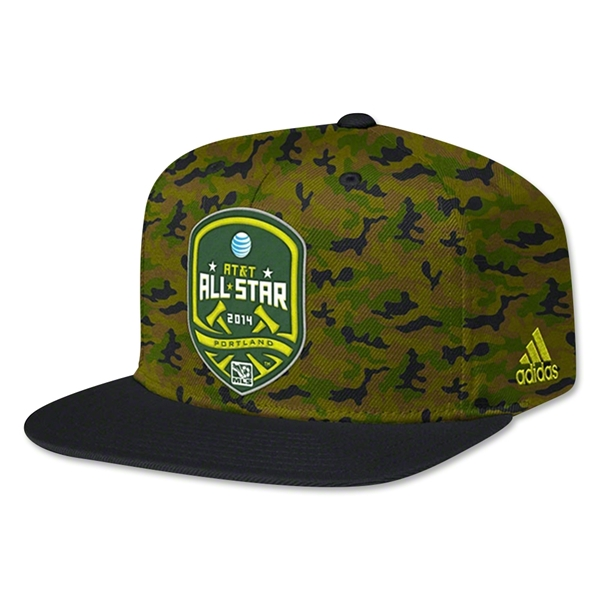 MLS All Star 2014 Camo Snapback Cap