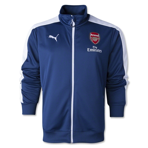 Arsenal 14/15 T7 Anthem Jacket (Navy)