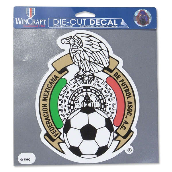 Mexico 8x8 Crest Decal