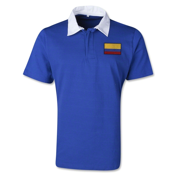 Colombia Retro Flag Shirt (Royal)
