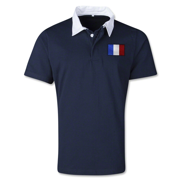 France Retro Flag Shirt (Navy)