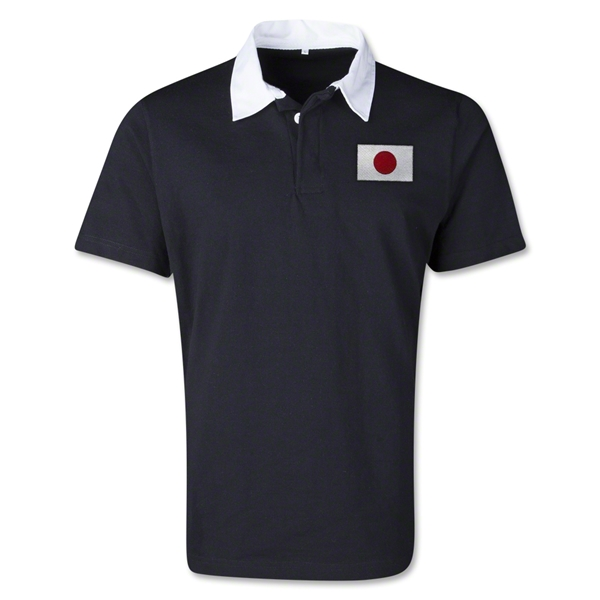 Japan Retro Flag Shirt (Black)