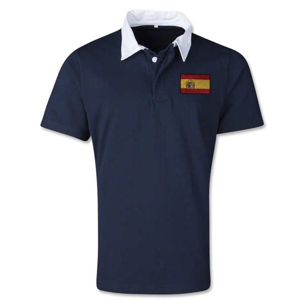 Spain Retro Flag Shirt (Navy)