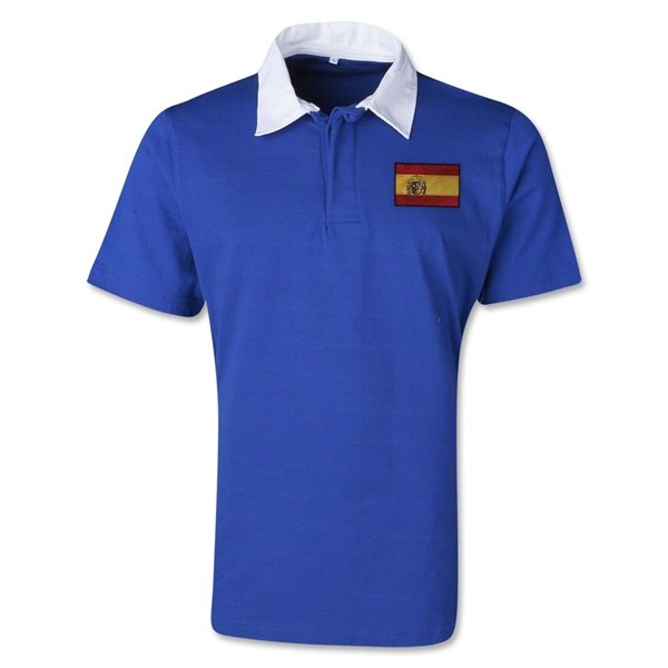 Spain Retro Flag Shirt (Royal)