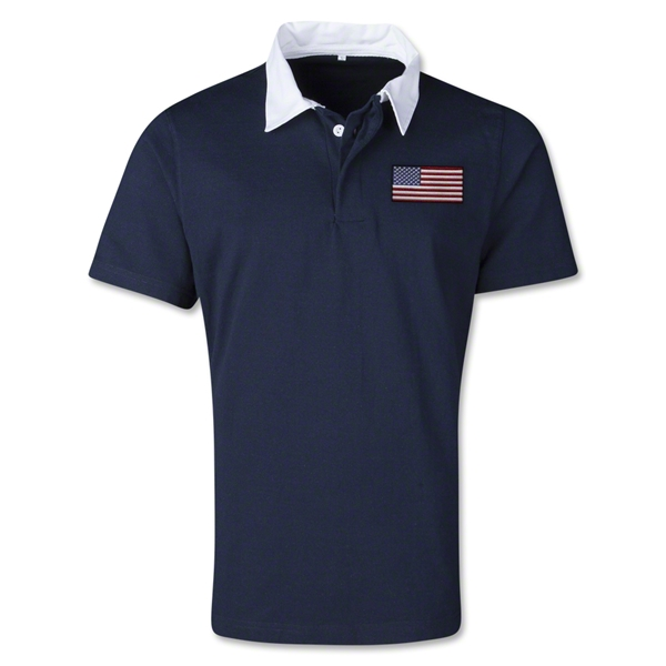 USA Retro Flag Shirt (Navy)