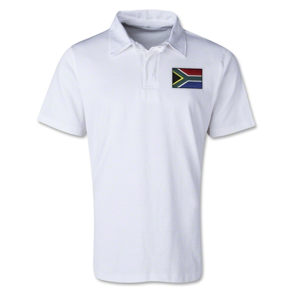 South Africa Retro Flag Shirt (White)