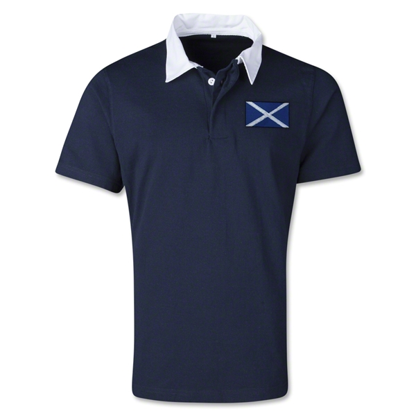 Scotland Retro Flag Shirt (Navy)