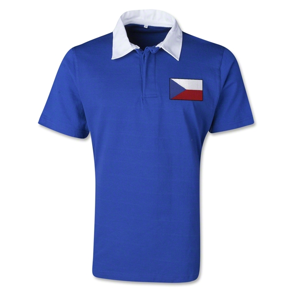Czech Republic Retro Flag Shirt (Royal)