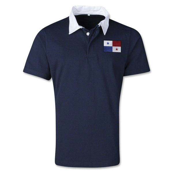 Panama Retro Flag Shirt (Navy)