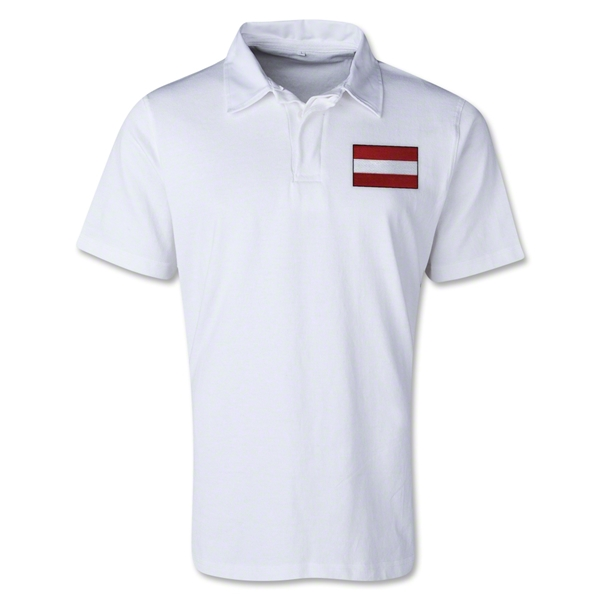 Austria Retro Flag Shirt (White)