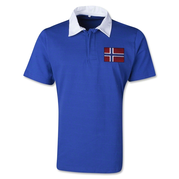 Norway Retro Flag Shirt (Royal)