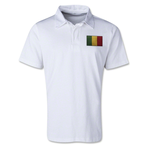 Mali Retro Flag Shirt (White)