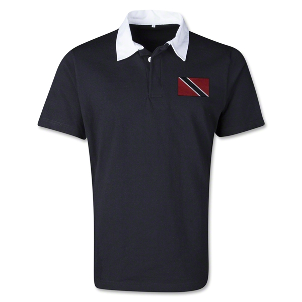 Trinidad & Tobago Retro Flag Shirt (Black)