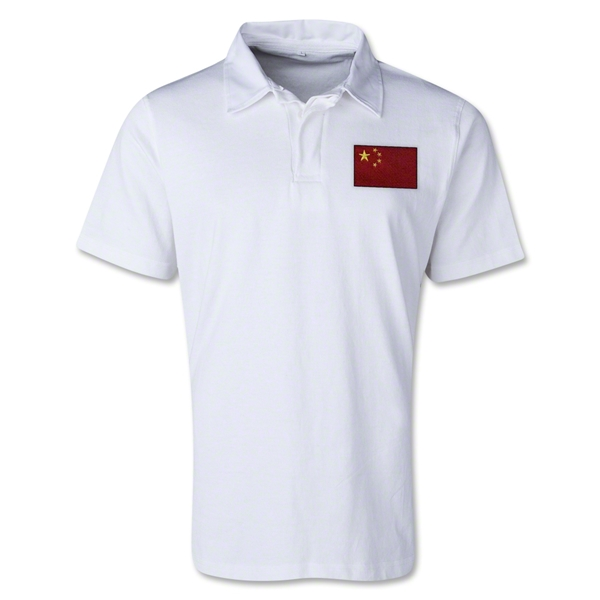 China Retro Flag Shirt (White)