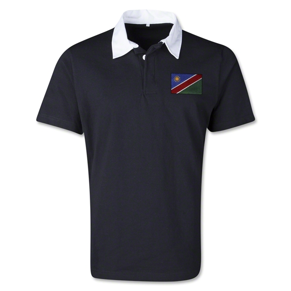 Namibia Retro Flag Shirt (Black)