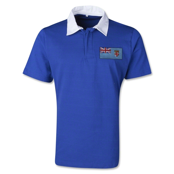 Fiji Retro Flag Shirt (Royal)