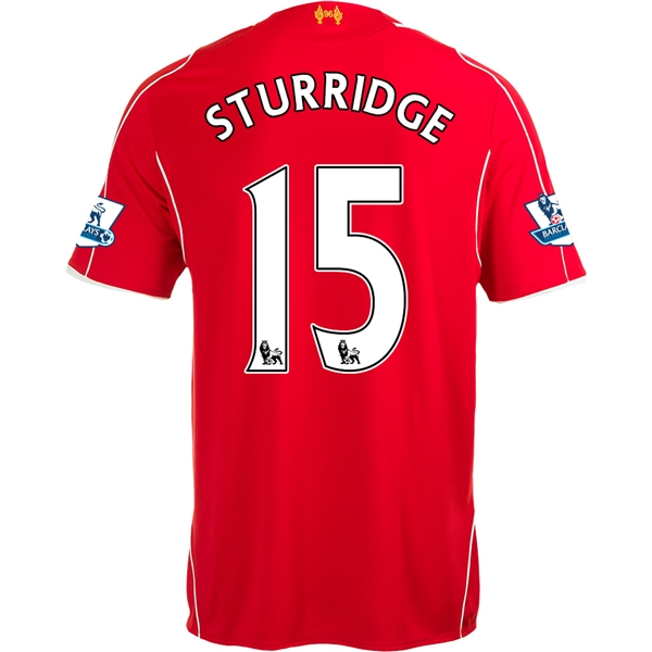 Liverpool 14/15 STURRIDGE Home Soccer Jersey