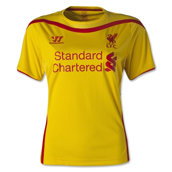 Liverpool 14/15 Women's Away Soccer Jersey