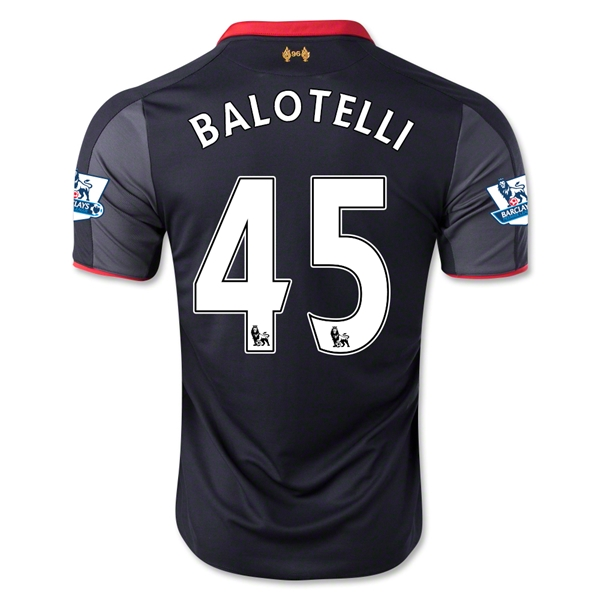Liverpool 14/15 BALOTELLI Third Soccer Jersey