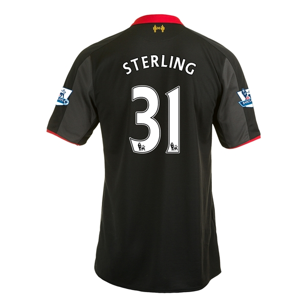 Liverpool 14/15 STERLING Third Soccer Jersey