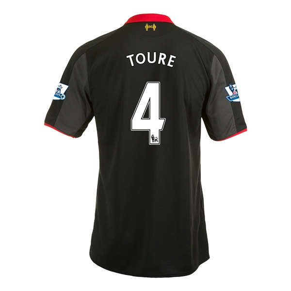Liverpool 14/15 TOURE Third Soccer Jersey