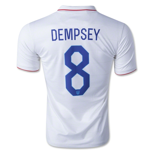 USA 14/15 DEMPSEY Home Soccer Jersey