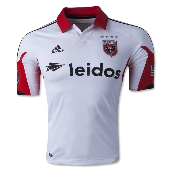 DC United 2014 Authentic Secondary Soccer Jersey