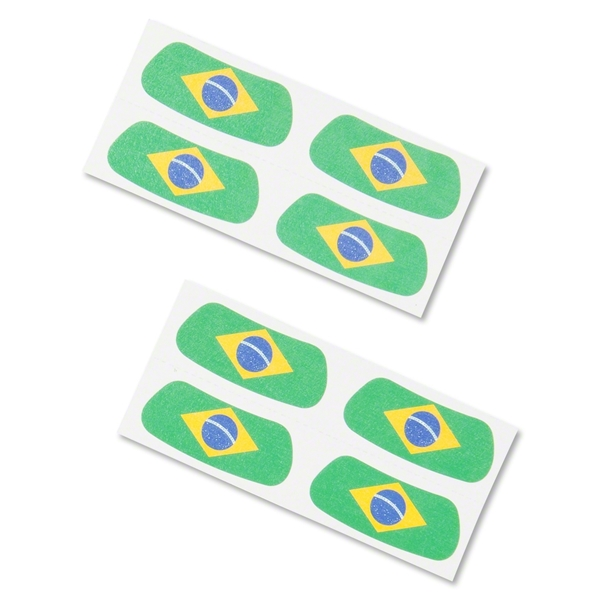Brazil Flag Eyeblacks