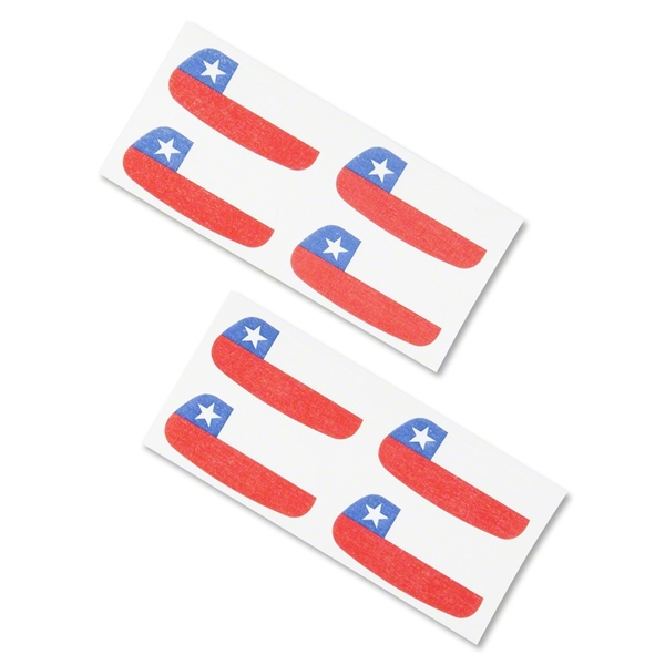 Chile Flag Eyeblacks