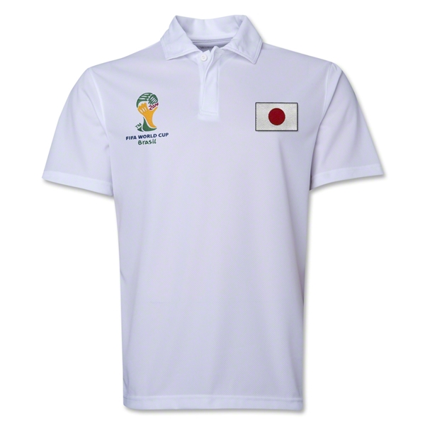 Japan 2014 FIFA World Cup Polo (White)
