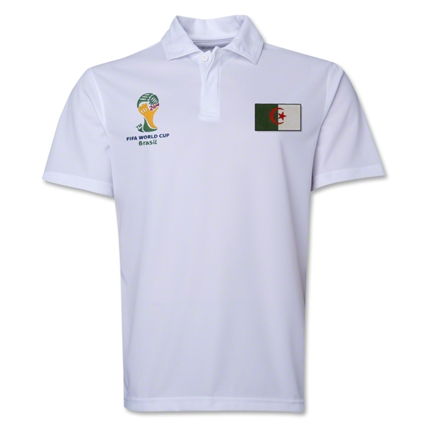 Algeria 2014 FIFA World Cup Polo (White)