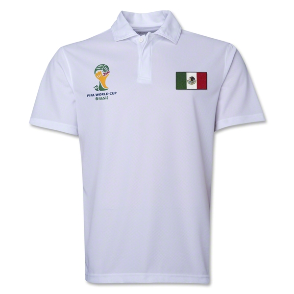 Mexico 2014 FIFA World Cup Polo (White)
