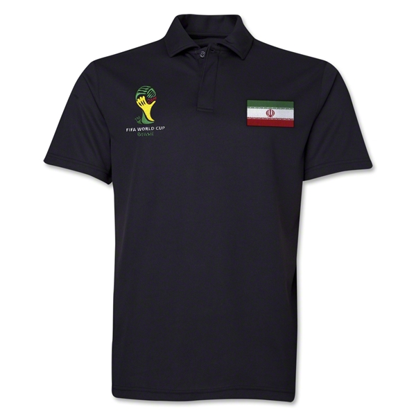 Iran 2014 FIFA World Cup Polo (Black)