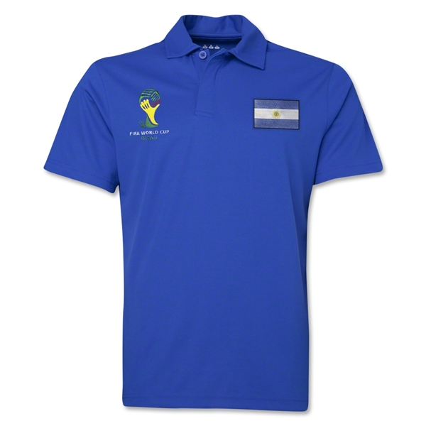 Argentina 2014 FIFA World Cup Polo (Royal)
