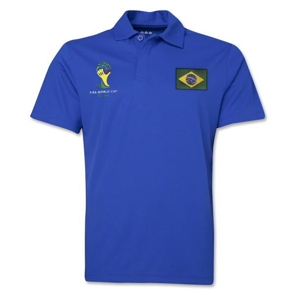 Brazil 2014 FIFA World Cup Polo (Royal)