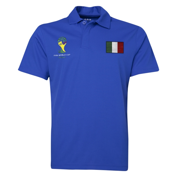 Italy 2014 FIFA World Cup Polo (Royal)
