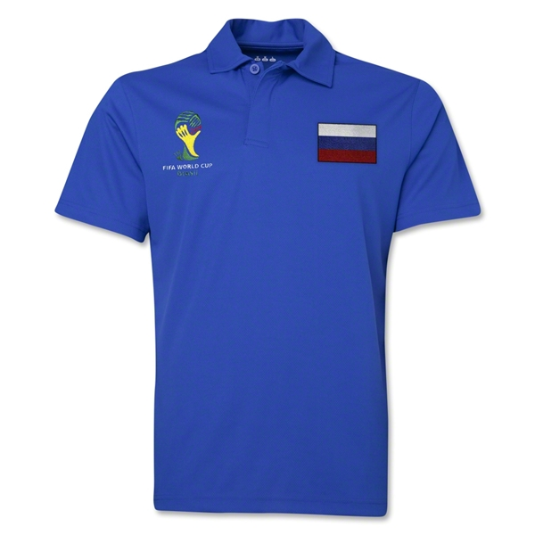 Russia 2014 FIFA World Cup Polo (Royal)