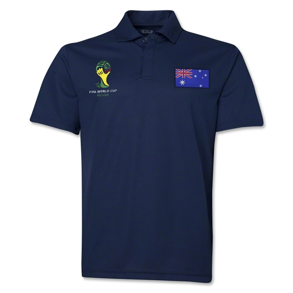 Australia 2014 FIFA World Cup Polo (Navy)