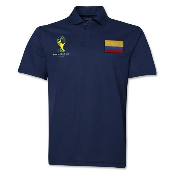 Colombia 2014 FIFA World Cup Polo (Navy)