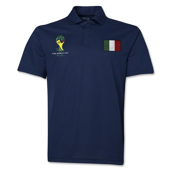 Italy 2014 FIFA World Cup Polo (Navy)