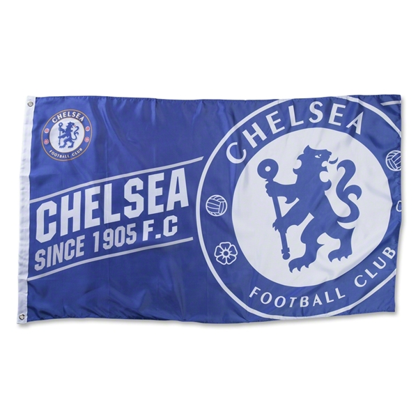 Chelsea 5x3 Established Flag