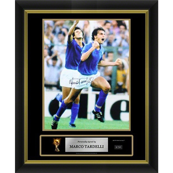 Marco Tardelli Signed Italy Photo