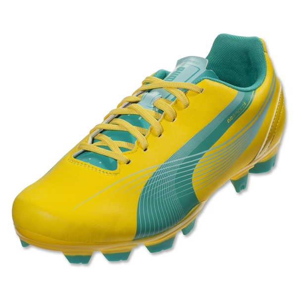 PUMA evoSPEED 5.2 FG Women's (Vibrant Yellow)